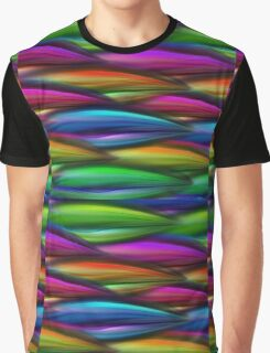 Abstract  Waves Graphic T-Shirt