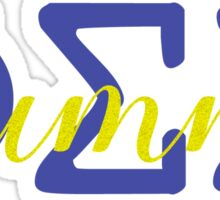 Phi Sig Alumna Sticker