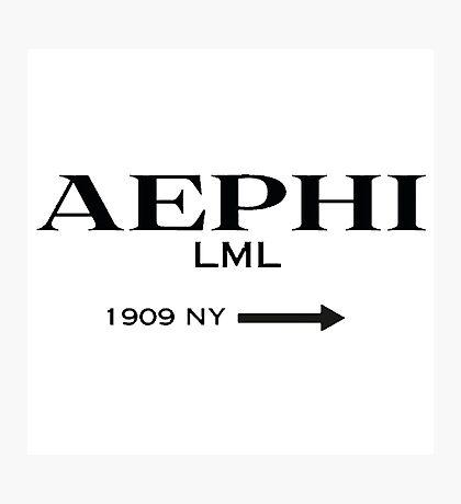 aephi prada Photographic Print