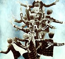 Exo Tree Drawing by Shannon Rudder