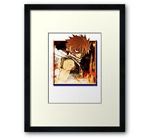 Portrait of a Dragon Slayer - No Text Framed Print