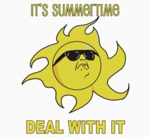 Summertime Sun - Deal with It Kids Tee