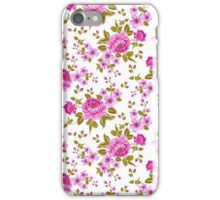 Luxurious color peony seamless pattern iPhone Case/Skin