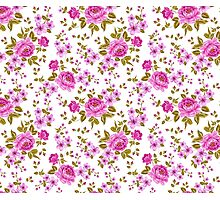 Luxurious color peony seamless pattern Photographic Print