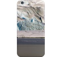 Mendenhall Glacier and frozen lake iPhone Case/Skin