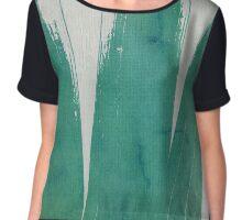 green ink - II Chiffon Top