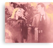 Ten & Rose Canvas Print