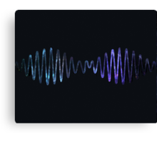Arctic Monkeys Galaxy Canvas Print