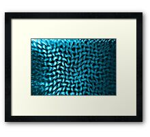 Textured Net Framed Print