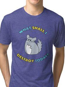 Chinchilla The Destroyer Tri-blend T-Shirt
