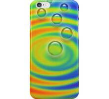 Bubbles in a Rainbow Pool iPhone Case/Skin