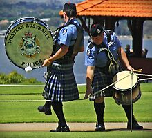 Oops! yer kilt's caught on the rope by myraj