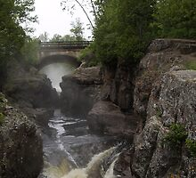 The Temperance River by Christopher Carlson