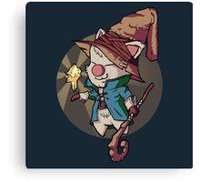 Final Fantasy Wizard Moogle Canvas Print