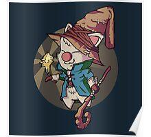 Final Fantasy Wizard Moogle Poster