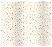 Seamless vintage floral pattern for your design Poster