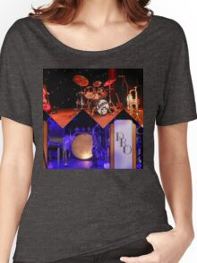 Jazz Collage Women's Relaxed Fit T-Shirt