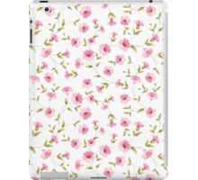 Pink flowers fabric, seampless pattern iPad Case/Skin