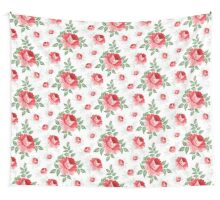 Rose seamless pattern for floral background Wall Tapestry