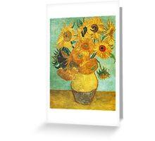Van Gogh - 1 Greeting Card