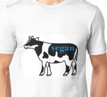 vegan cow Unisex T-Shirt