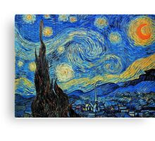 In the style of Van Gogh - 2 Canvas Print