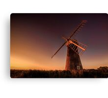 Long day at the mill Canvas Print