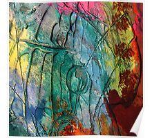 Mixed media 17 by rafi talby Poster