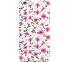Design of vintage floral card iPhone Case/Skin