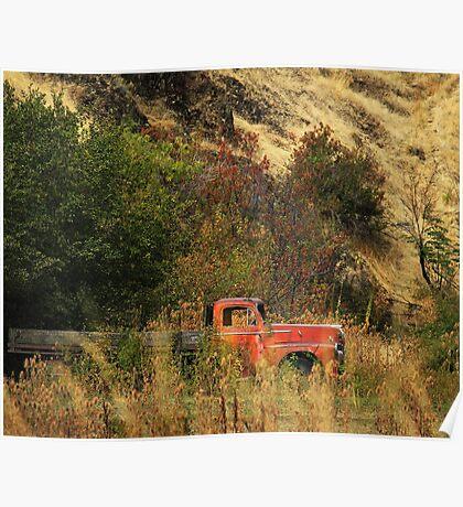 Oregon Truck  Poster