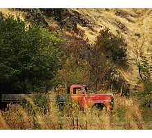Oregon Truck  Photographic Print