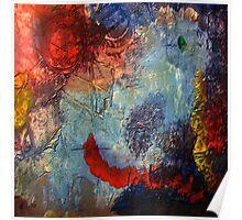 Mixed media 19 by rafi talby Poster