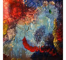Mixed media 19 by rafi talby Photographic Print