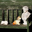 Garden Still Life, Beethoven and Dogs. by Billlee