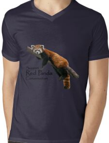 2016 Red Panda Day Mens V-Neck T-Shirt
