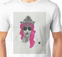 Mermaid Crown - Mermaid Princess-  Unisex T-Shirt