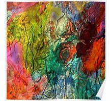 Mixed media 20 by rafi talby Poster