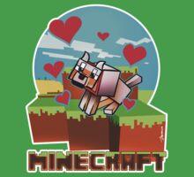 Befriending the Minecraft Wolf Kids Clothes