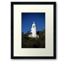 Y Goleudy Portmeirion Lighthouse Framed Print