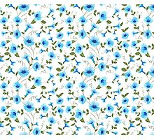 Floral seamless pattern for textile fabric Photographic Print