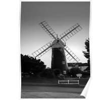 Mundesley Windmill Poster