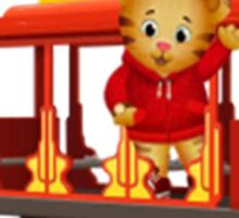 Daniel Tiger and Trolley Sticker
