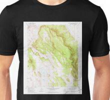 USGS TOPO Map Arizona AZ Rose Well Camp East 313136 1981 24000 Unisex T-Shirt