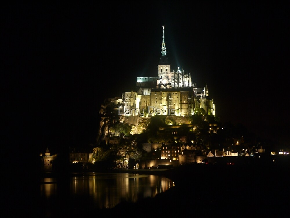 The Magic of Mont St.Michel by Larry Lingard-Davis