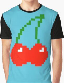 Pixel Cherry Graphic T-Shirt
