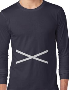 Team Skull Design Long Sleeve T-Shirt