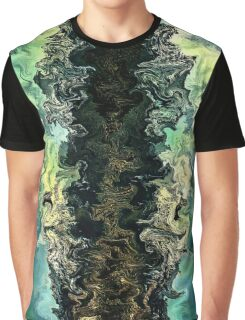 The split by rafi talby Graphic T-Shirt