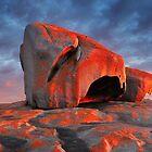 Remarkable Rocks Sunrise, Kangaroo Island, South Australia by Michael Boniwell