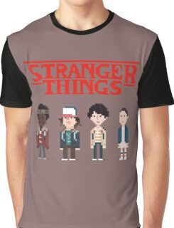 Stranger Things 8-Bit Graphic T-Shirt