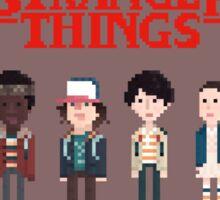 Stranger Things 8-Bit Sticker